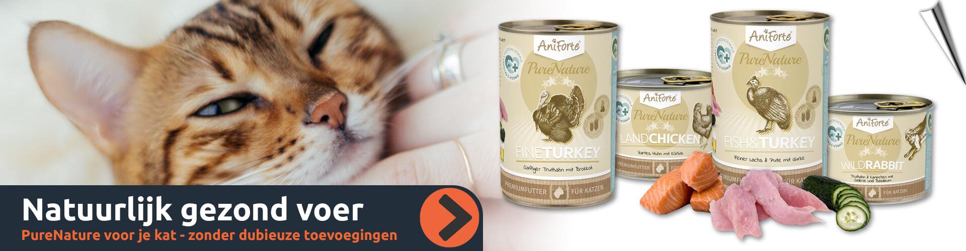 PureNature - Gezonde voeding voor jouw kat